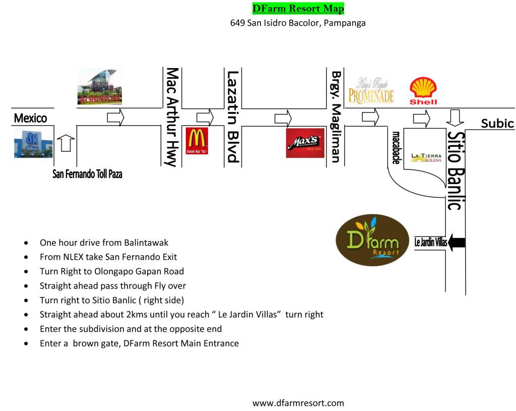 DFarm Map
